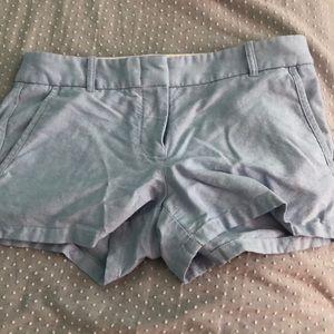 Baby Blue J Crew Shorts